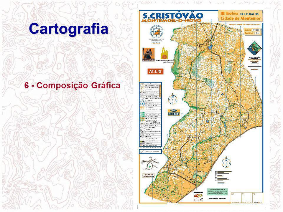 6 - Composição Gráfica Cartografia