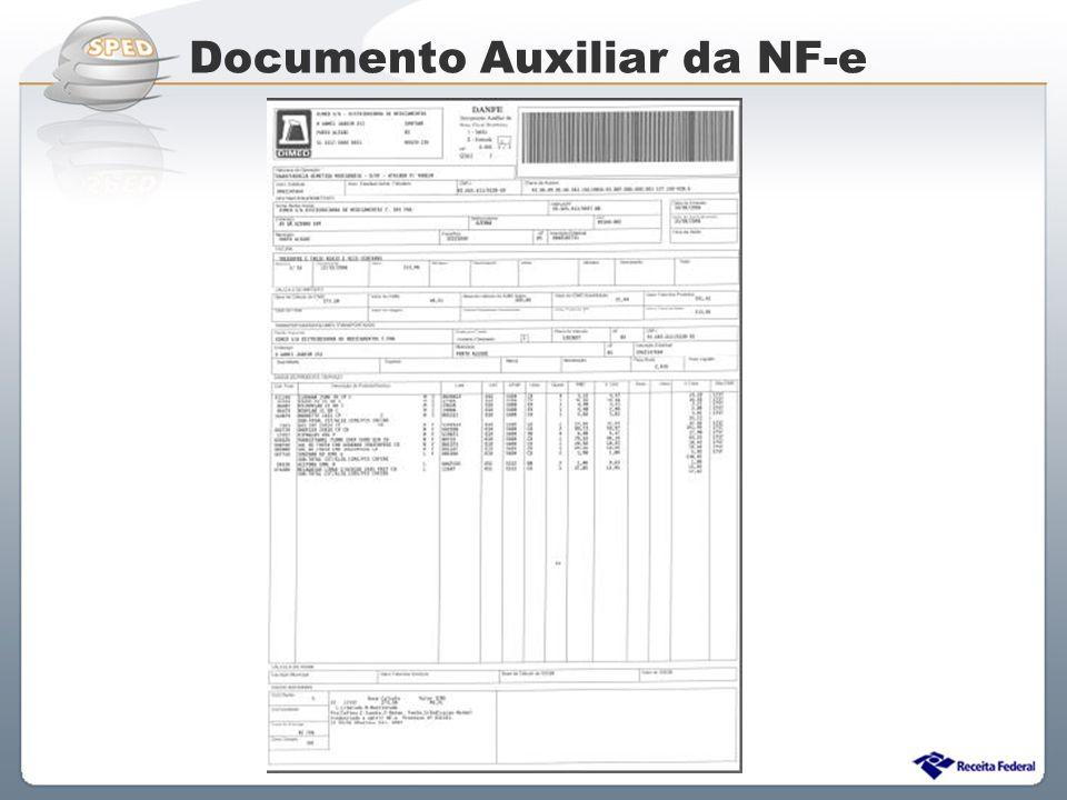 Sistema Público de Escrituração Digital Documento Auxiliar da NF-e