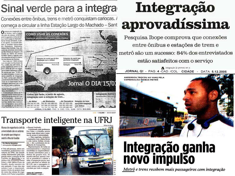 Jornal O DIA 15/07/2006