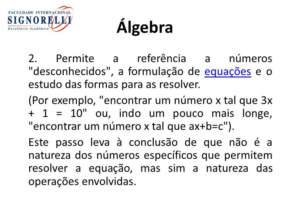 Álgebra 2.