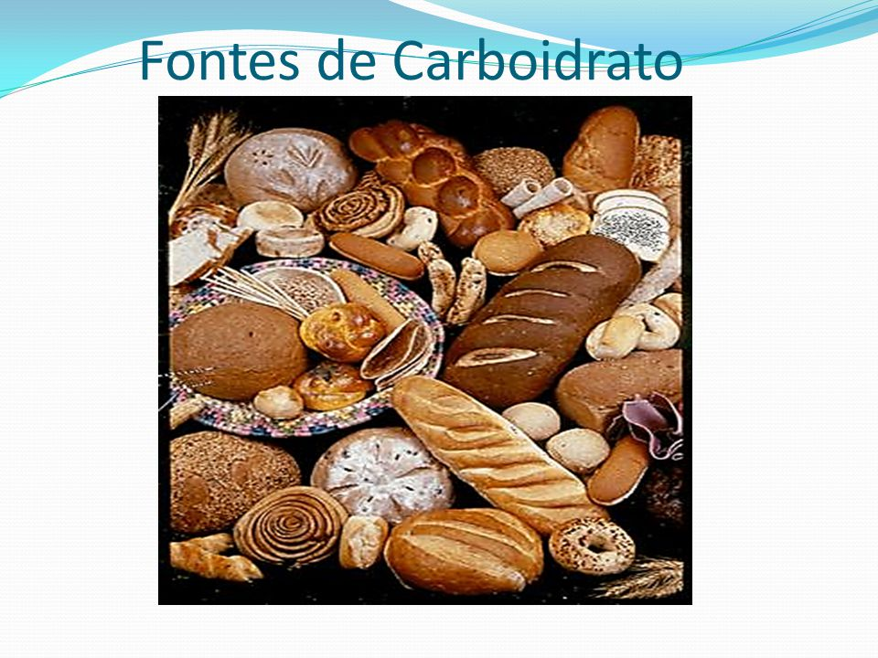 Fontes de Carboidrato