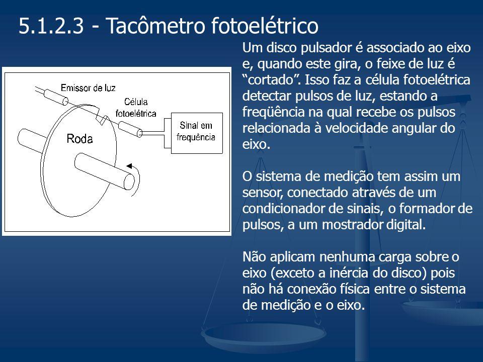 5.1.2.4 - Tacômetro eletromecânico