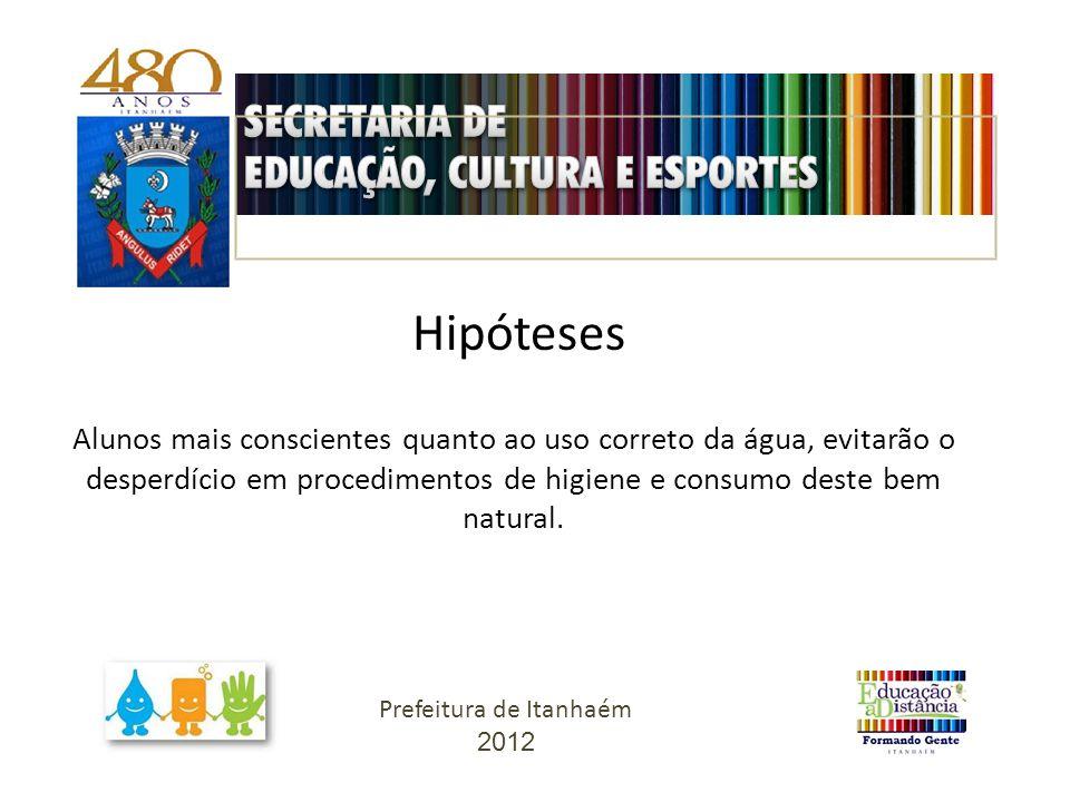 Justificativa Prefeitura de Itanhaém 2012