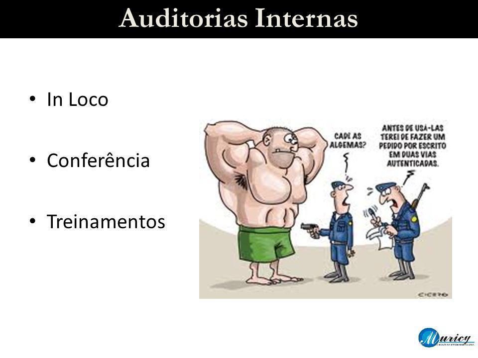 Auditorias Internas In Loco Conferência Treinamentos
