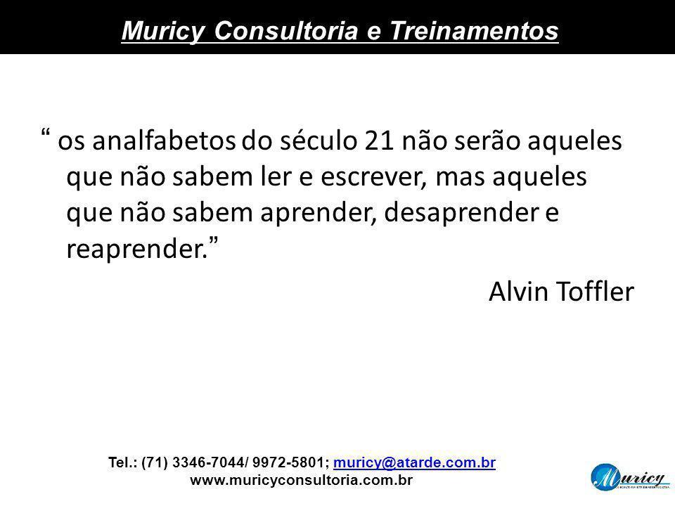 Tel.: (71) 3346-7044/ 9972-5801; muricy@atarde.com.br www.muricyconsultoria.com.brmuricy@atarde.com.br Muricy Consultoria e Treinamentos os analfabeto