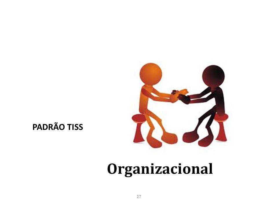 27 Organizacional PADRÃO TISS