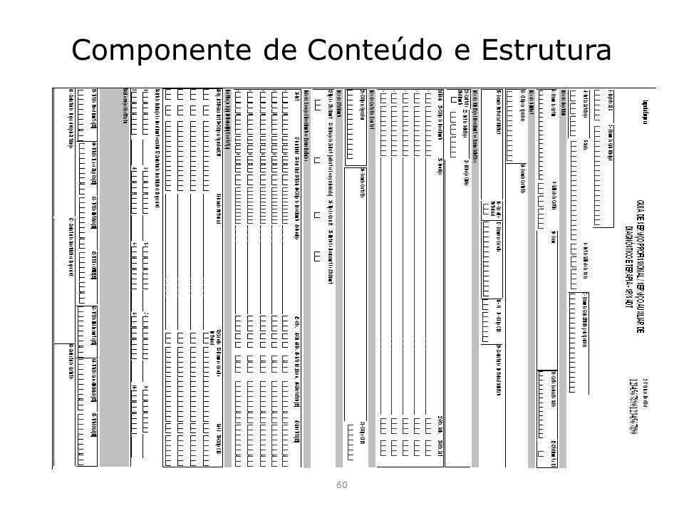 Componente de Conteúdo e Estrutura 60