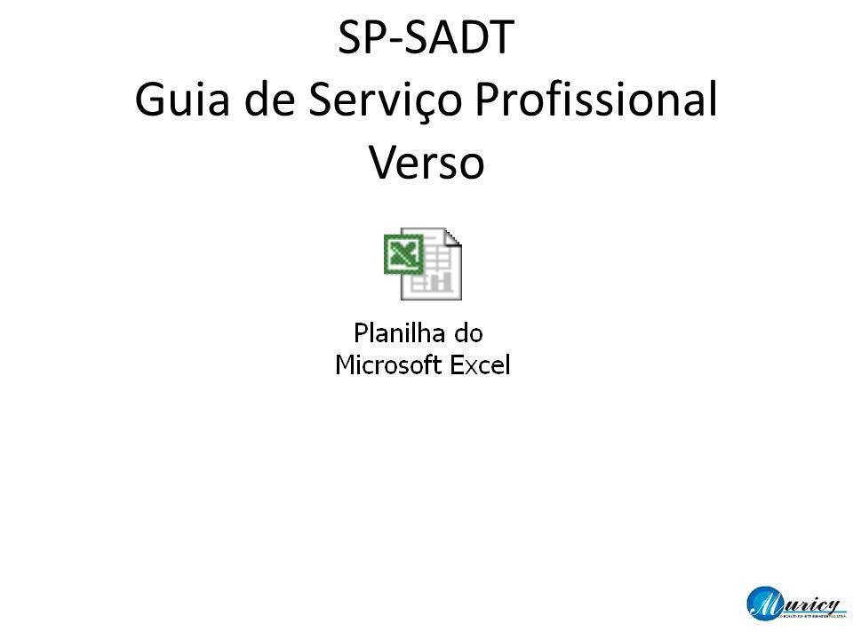 SP-SADT Guia de Serviço Profissional Verso