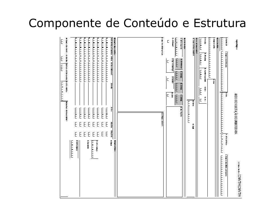 Componente de Conteúdo e Estrutura 75