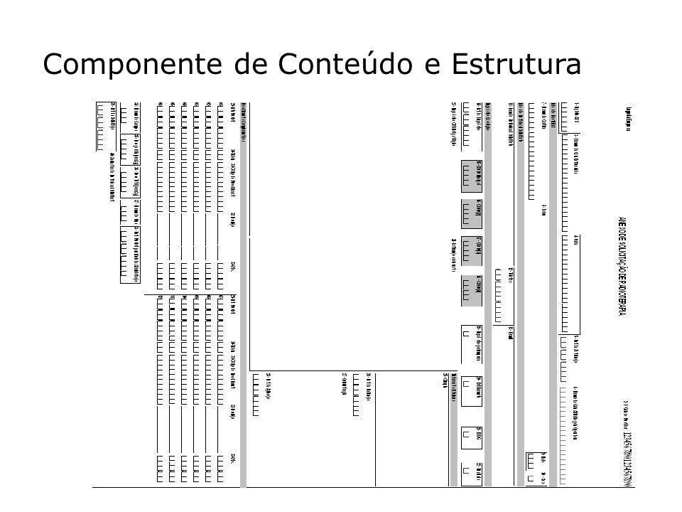 Componente de Conteúdo e Estrutura 76