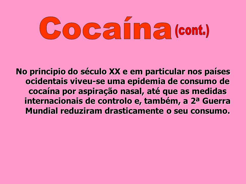 No entanto, neste mesmo período, uma importante discussão cientifica em relação à cocaína possibilitou avanços teóricos e conceptuais mais relevantes