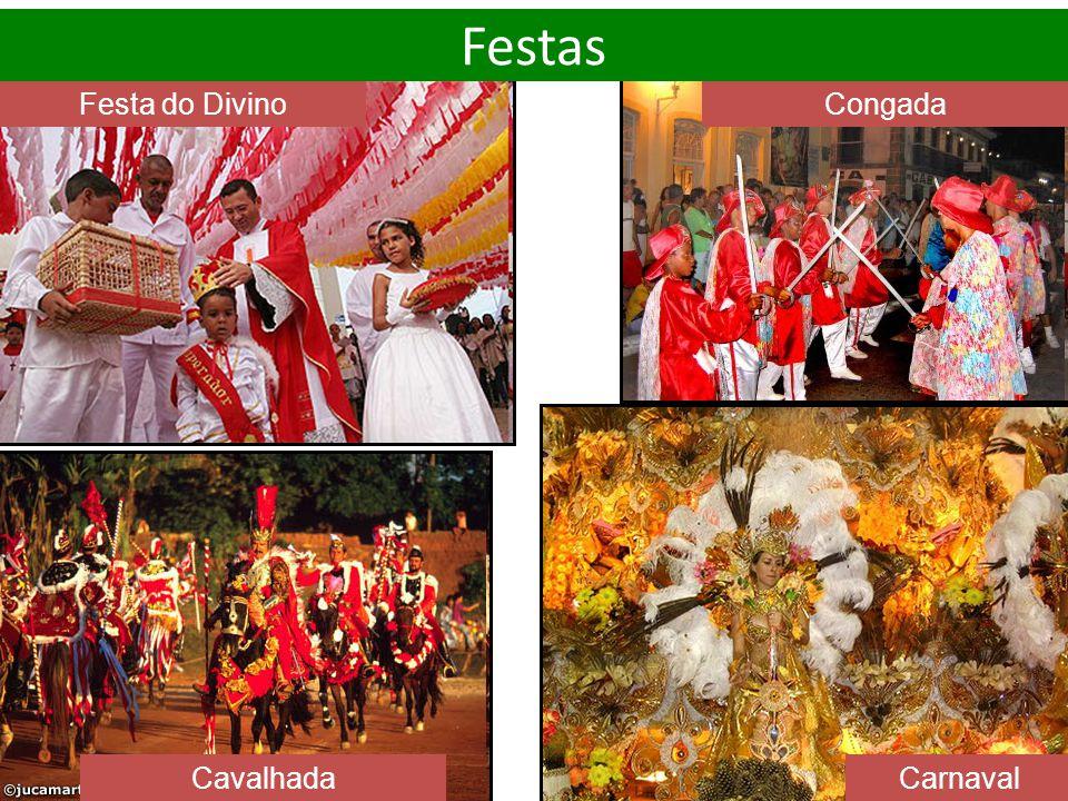 Festa do DivinoCongada Cavalhada Carnaval Festas