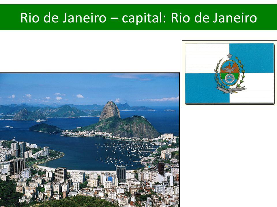 Rio de Janeiro – capital: Rio de Janeiro