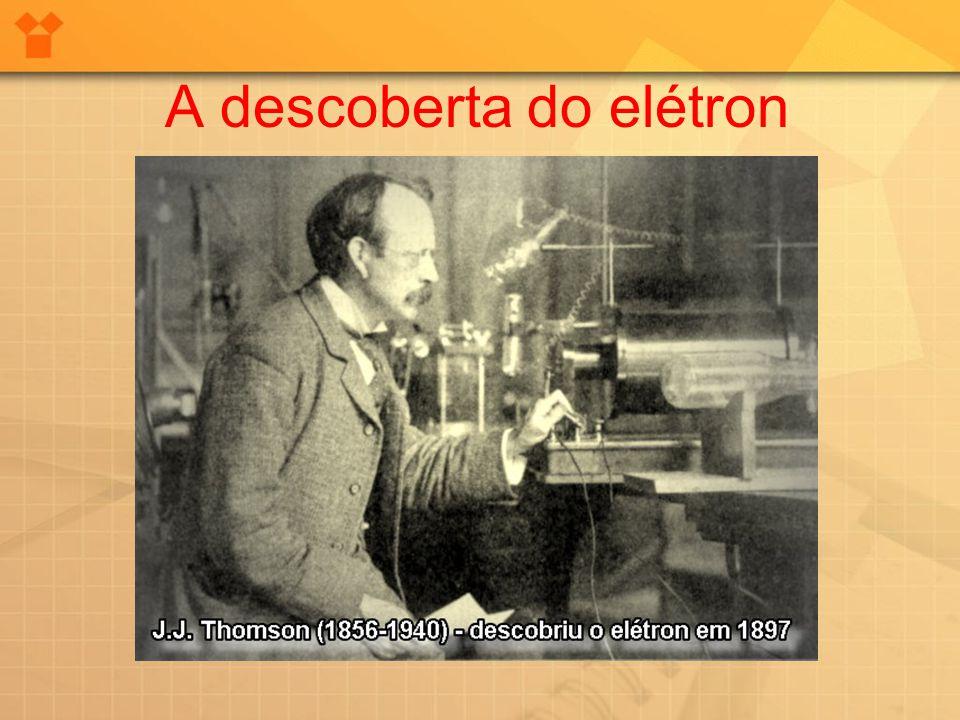 A descoberta do elétron