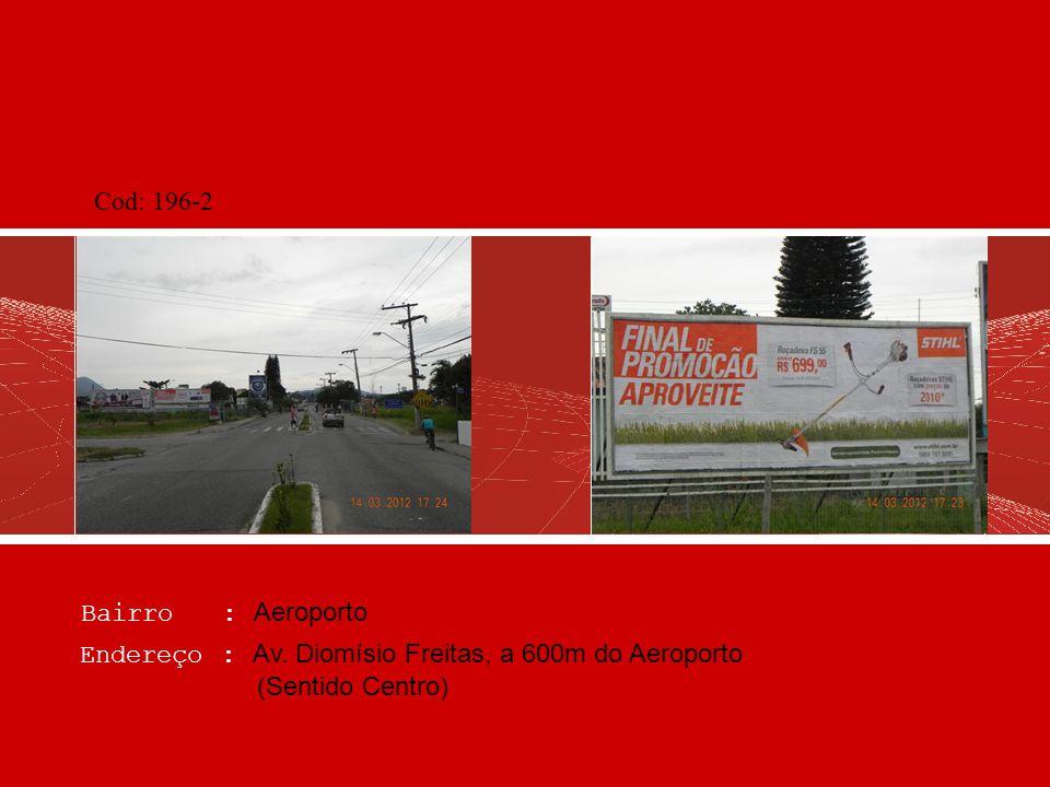 Bairro : Cacupé Endereço : SC 401, Trevo de Cacupé, frente Motel Meiembipe (Sentido Centro) Cod: 250-2