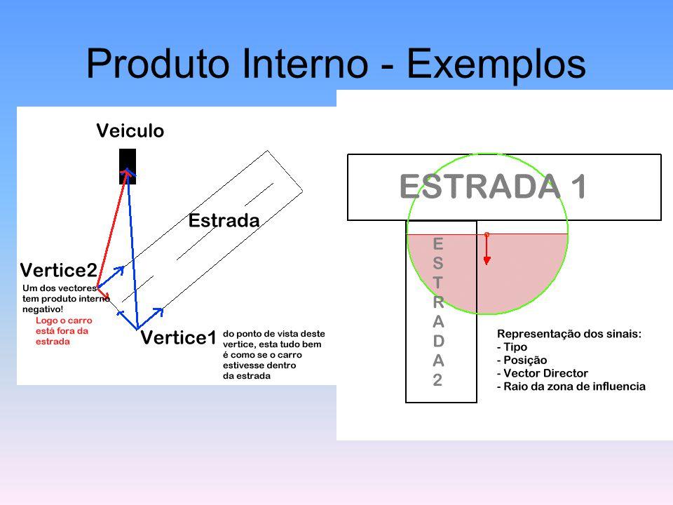 Produto Interno - Exemplos
