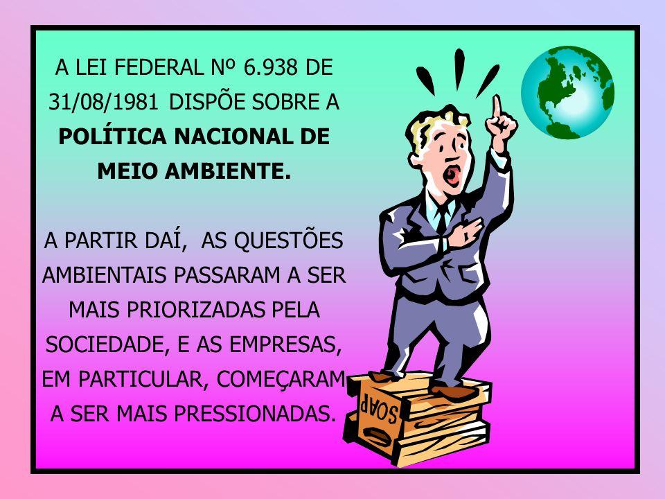 COMPETÊNCIA MUNICIPAL: atividades de impacto local; ou delegadas pelo Estado por instrumento legal ou convênio.
