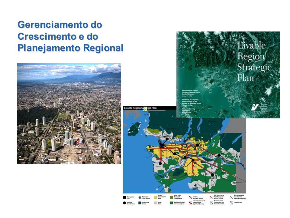 Gerenciamento do Crescimento e do Planejamento Regional