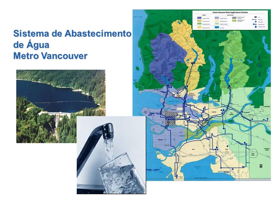 Sistema de Abastecimento de Água Metro Vancouver