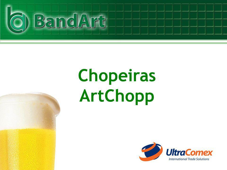 www.ultracomex.com.br Representante para Comércio Internacional Tel.: 55 (43) 3026-6308 ultracomex@ultracomex.com.br BandArt - Chopeiras Serv-Chopp Ltda.