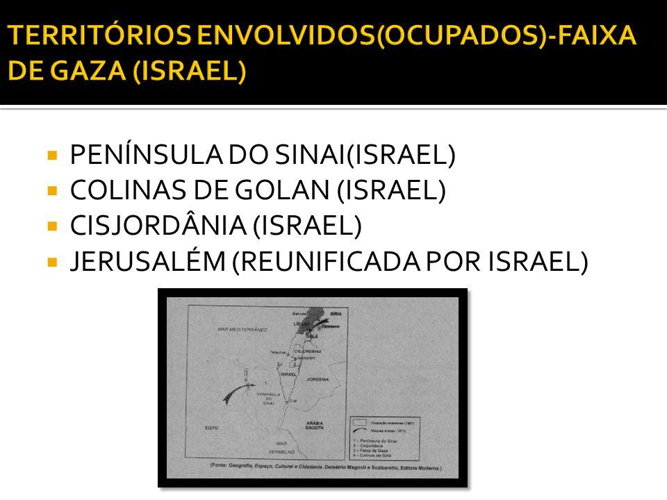 Período 1973 Área do conflito Oriente Médio Protagonistas Israel, Egito e Síria.