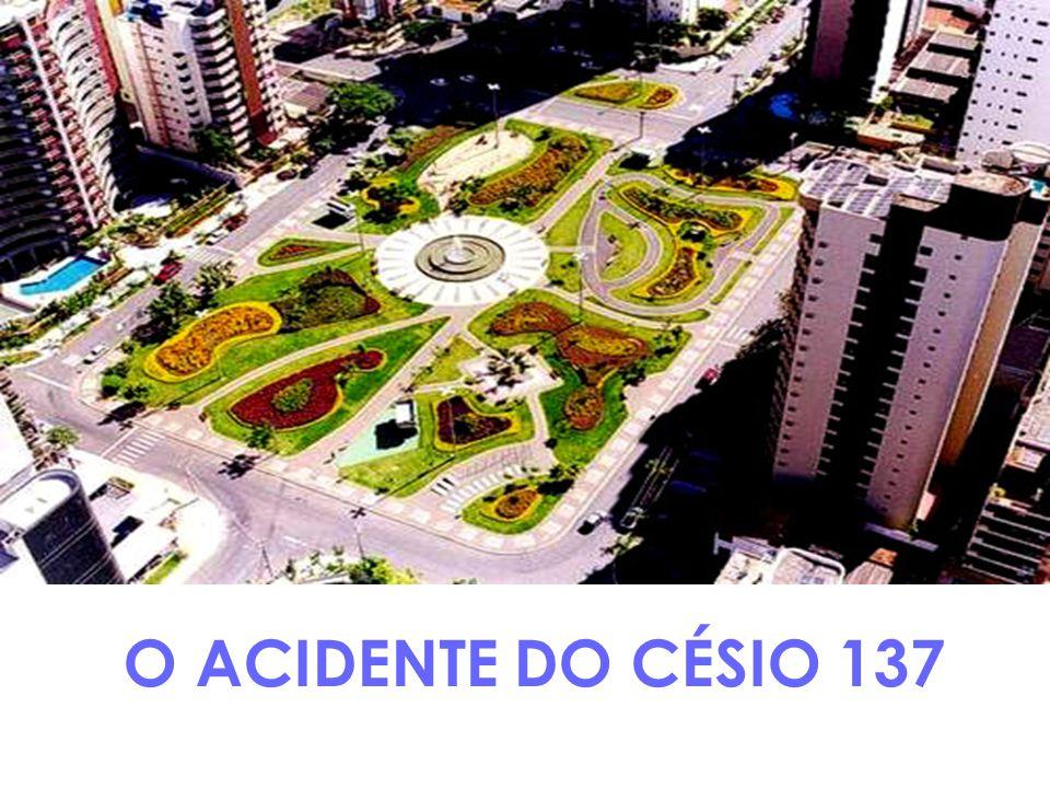 7.No dia 30 de setembro, alguns funcionários, por tomarem conhecimento das notícias veiculadas na imprensa, dirigiram-se ao Estádio Olímpico para medir a Radiação com os técnicos da CNEN.