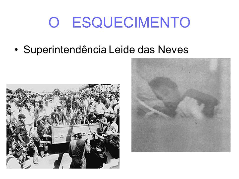 O ESQUECIMENTO Superintendência Leide das Neves