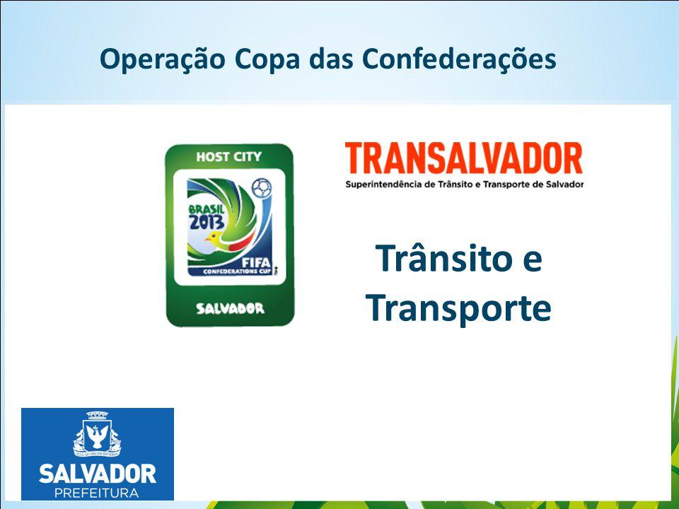 Click to edit Master Operação Copa das Confederações Trânsito e Transporte
