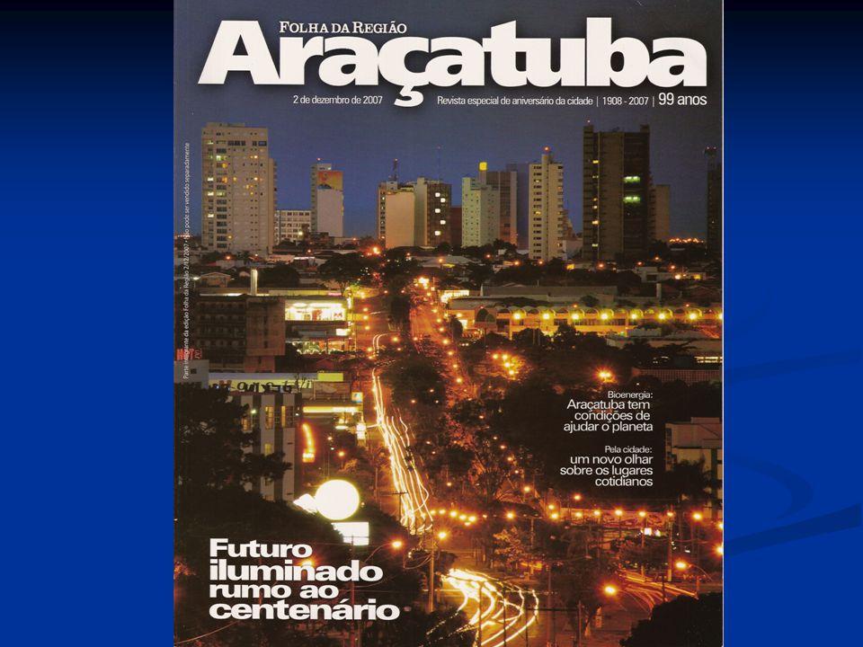 A REGIÃO DE ARAÇATUBA NO ESTADO DE SÃO PAULO