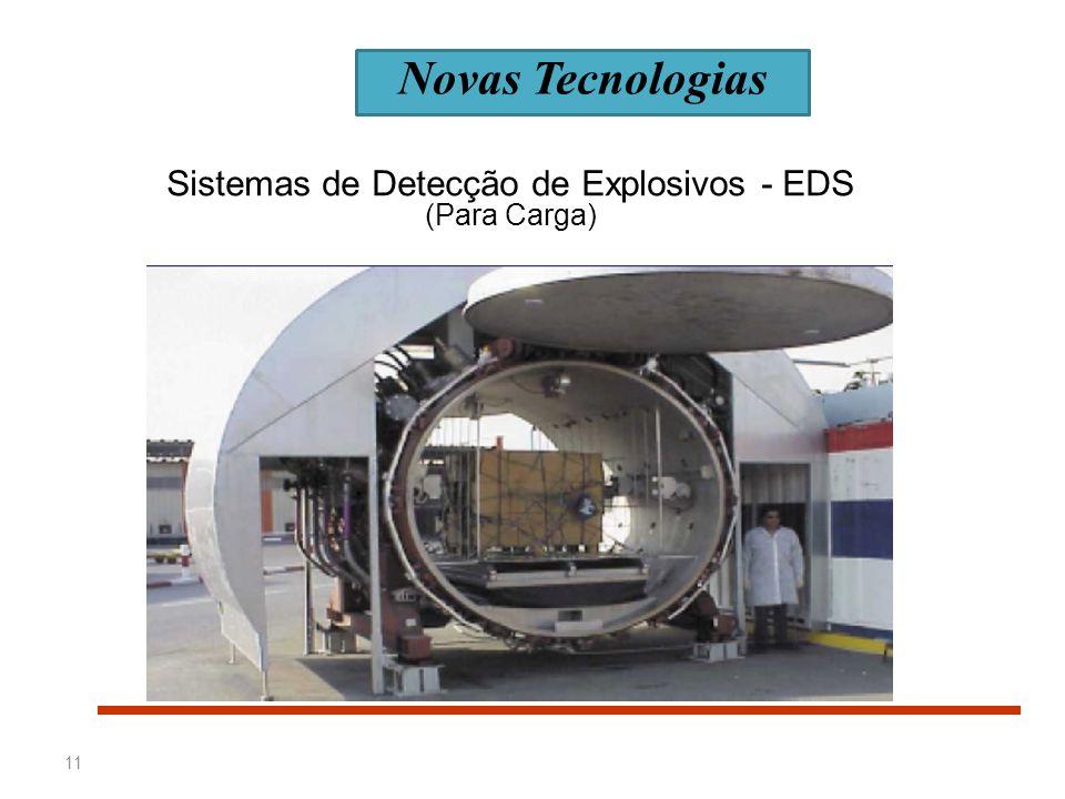 11 Sistemas de Detecção de Explosivos - EDS (Para Carga) Novas Tecnologias