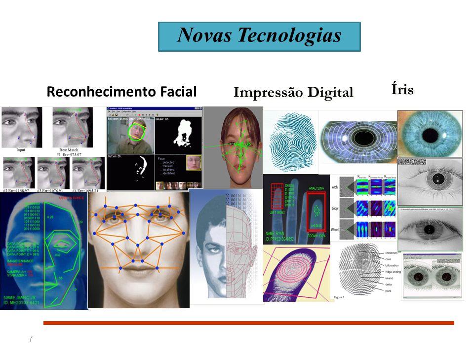 7 Reconhecimento Facial Impressão Digital Íris Novas Tecnologias
