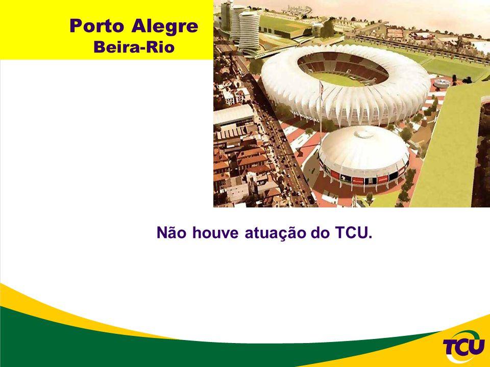 Porto Alegre Beira-Rio Não houve atuação do TCU.