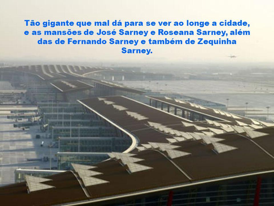 Será o maior e mais avançado aeroporto do mundo – não apenas em tecnologia – em eficiência, em sustentabilidade e cuidado com os passageiros.
