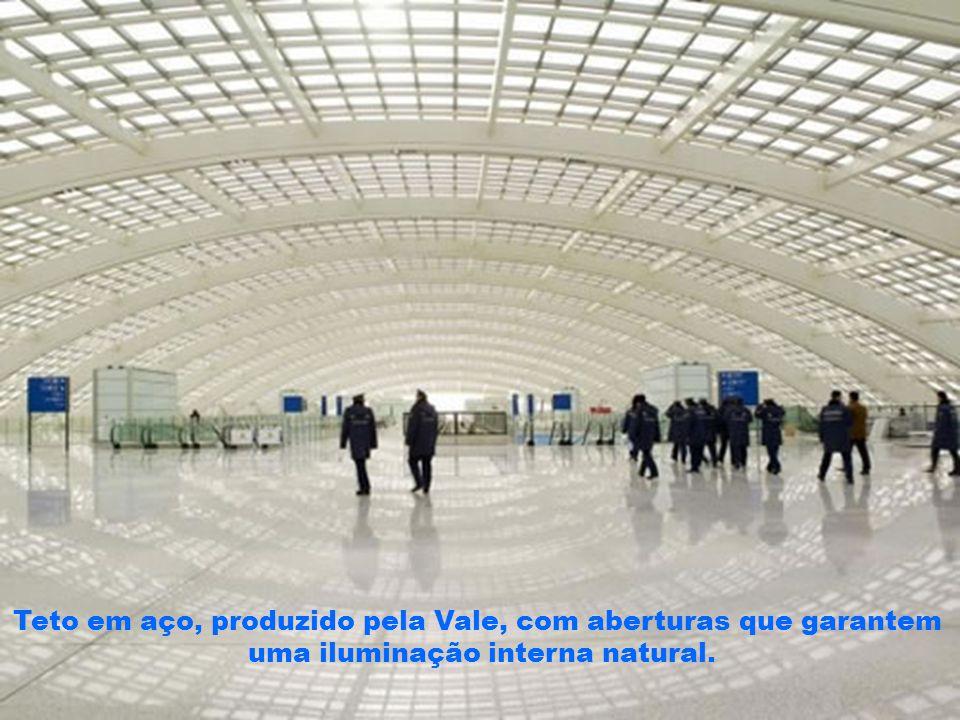 O novo aeroporto de São Luís receberá mais de 500 mil vôos por ano, principalmente dos jatos particulares dos grandes banqueiros internacionais da Suíça, New York, Miami, Sintra (Portugal) e Ilhas Caymã.