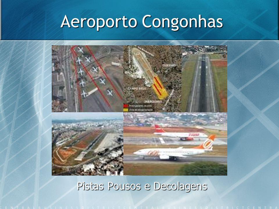 Aeroporto Congonhas Pistas Pousos e Decolagens