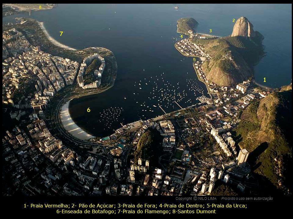 Copyright NILO LIMAProibido o uso sem autorização c O Enseada de Botafogo e, ao fundo, Praia de Copacabana