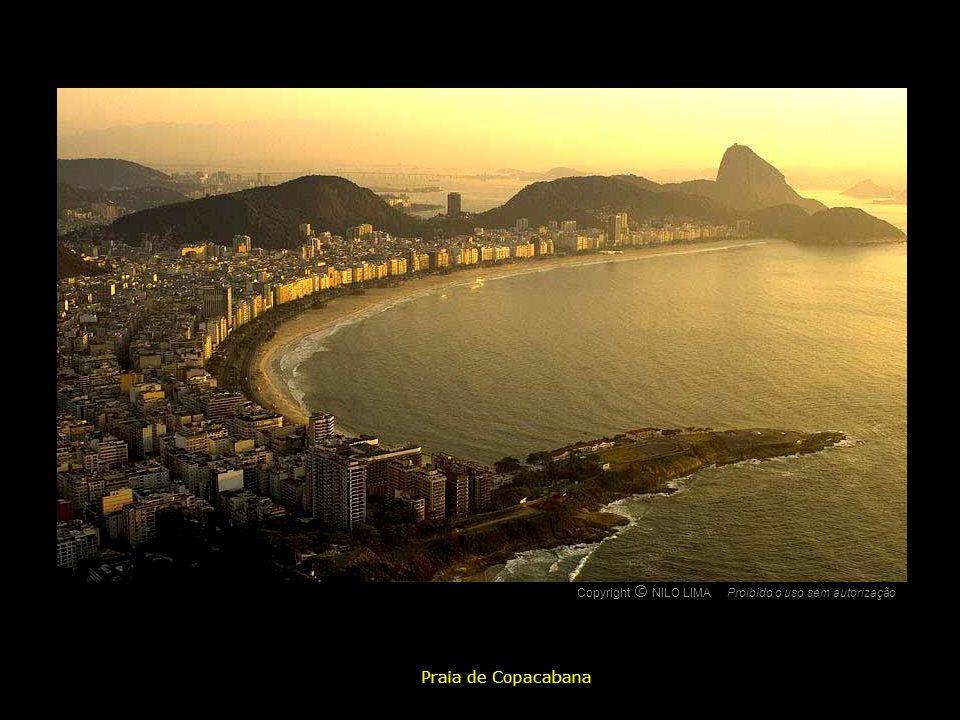 Copyright NILO LIMAProibido o uso sem autorização c O 1- Praia Vermelha; 2- Pão de Açúcar; 3-Praia de Fora; 4-Praia de Dentro; 5-Praia da Urca; 6-Ense
