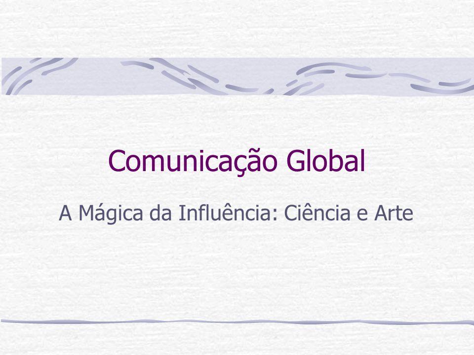 Comunicação Global A Mágica da Influência: Ciência e Arte