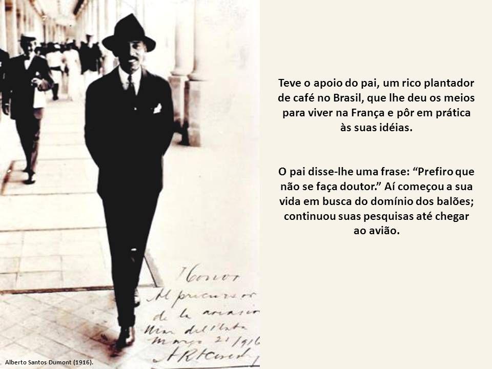 Os caminhos do Dirigível. O primeiro dirigível do mundo é a aeronave N- 6, do mineiro Alberto Santos Dumont campeã do Prêmio Deutsch, em 1901, que nad