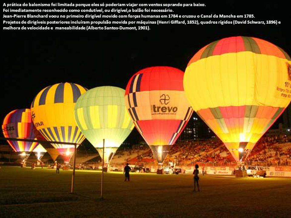 Hot-air balloon Aeronave Aeronave é qualquer máquina capaz de sustentar vôo, e a grande maioria também é capaz de alçar vôo por meios próprios. Aerona