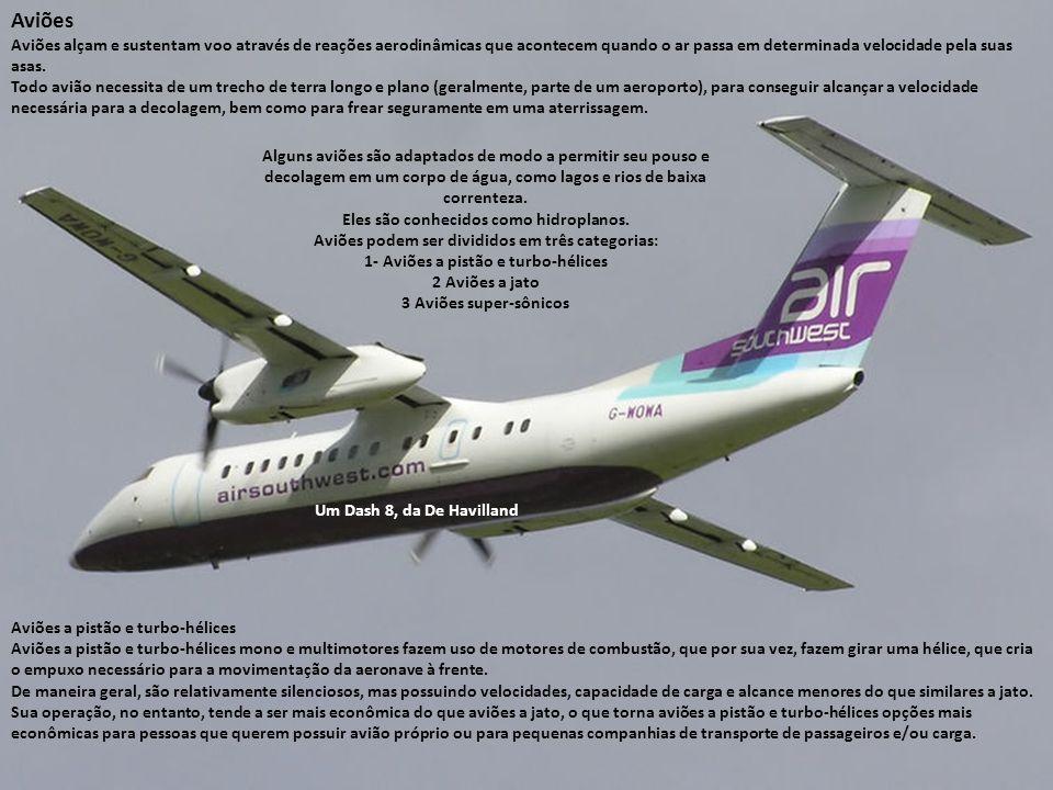 AVIAÇÃO GERAL A aviação geral se caracteriza pela grande quantidade de vôos (pousos e decolagens). A aviação geral inclui a parte da aviação civil que