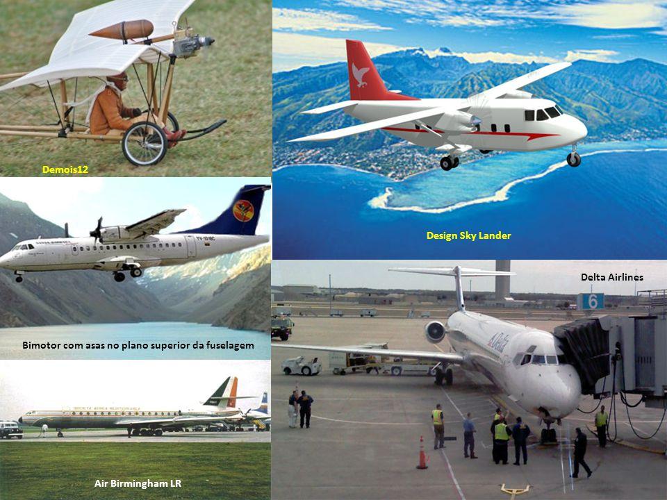 Um Dash 8, da De Havilland Aviões Aviões alçam e sustentam voo através de reações aerodinâmicas que acontecem quando o ar passa em determinada velocid