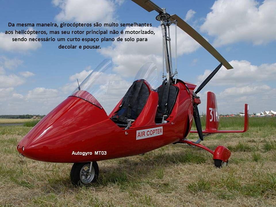 O primeiro autogiro foi desenvolvido e construído por Juan de La Cierva, em 1923.