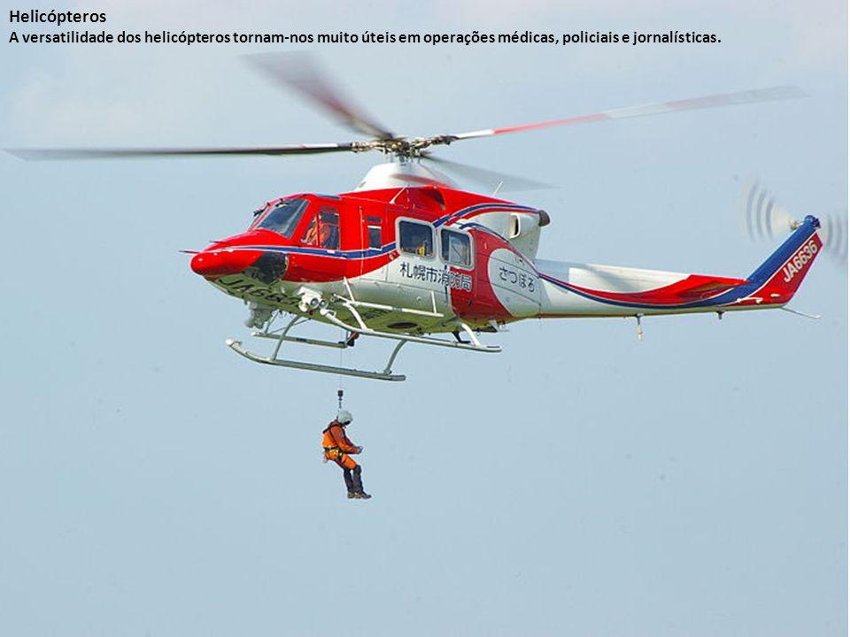Da mesma maneira, girocópteros são muito semelhantes aos helicópteros, mas seu rotor principal não é motorizado, sendo necessário um curto espaço plan