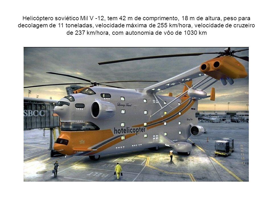 Mil Mi-26 O maior helicóptero do mundo.