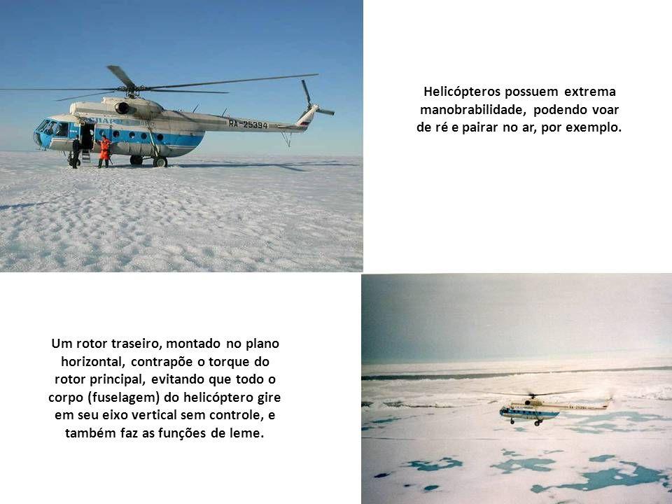 Helicóptero- rádio-control Os helicópteros, ou aeronaves de asa rotativas, alçam e sustentam voo graças às suas pás, que agem como asas rotativas e ta