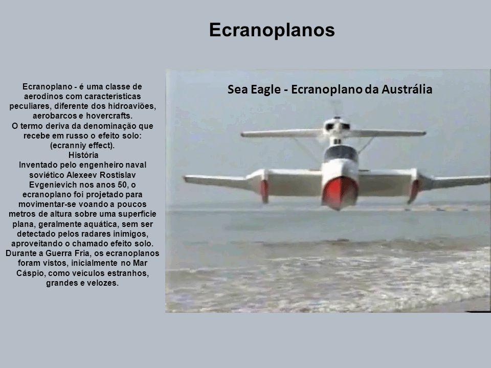 2 - Hidroaviões de flutuadores Os hidroaviões deste tipo utilizam flutuadores em lugar de um trem de aterragem convencional, sendo que a sua fuselagem