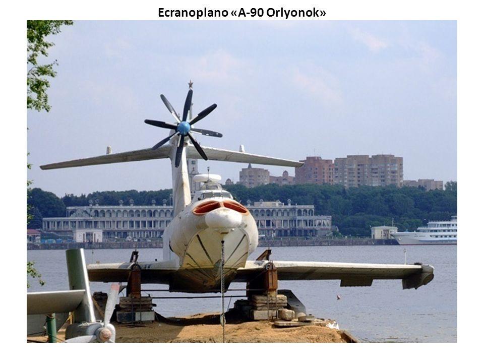 Sea Eagle - Ecranoplano da Austrália Ecranoplano - é uma classe de aerodinos com características peculiares, diferente dos hidroaviões, aerobarcos e h
