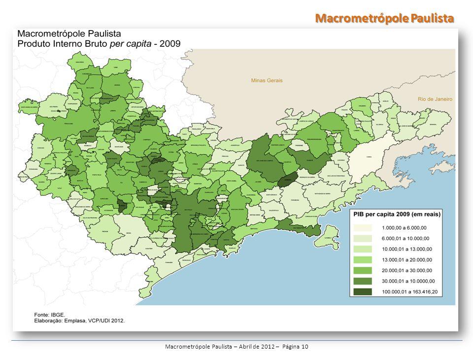 Macrometrópole Paulista – Abril de 2012 – Página 10 Macrometrópole Paulista