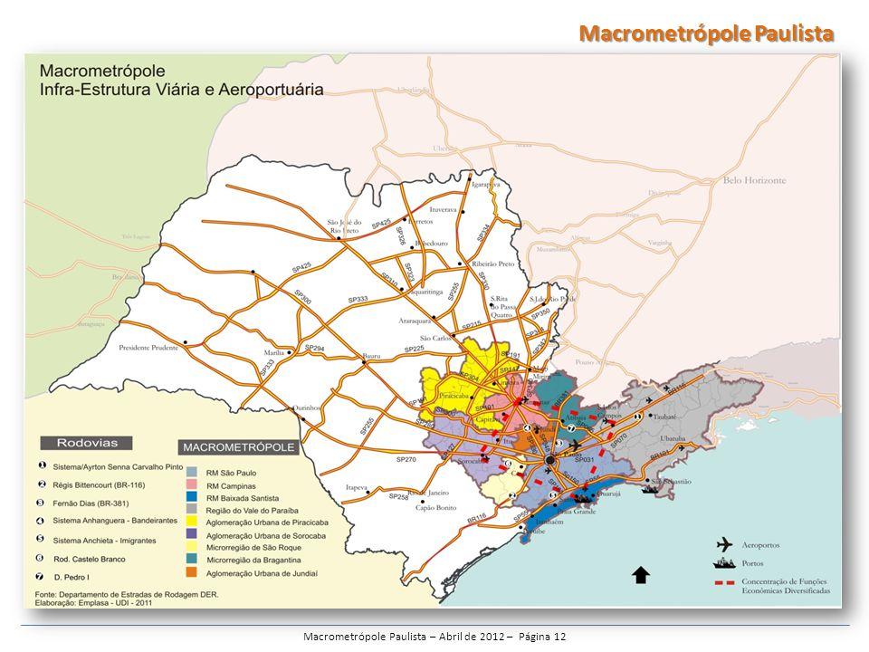 Macrometrópole Paulista – Abril de 2012 – Página 12 Macrometrópole Paulista